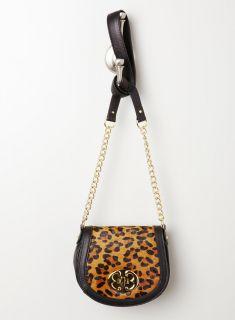 Emma Fox Leopard Haircalf Flap Xbdy