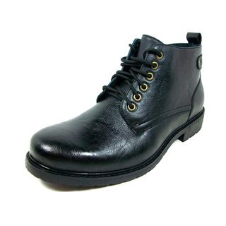 Ferro Aldo Mens Ankle Height Oxford Dress Shoes