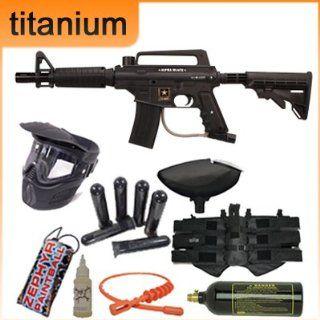 Tippmann US Army Alpha Tactical Titanium Paintball Gun