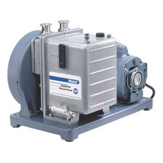 Welch 1376N 01 Vacuum Pump, 1 HP, 29.9 In Hg, 10.6 CFM