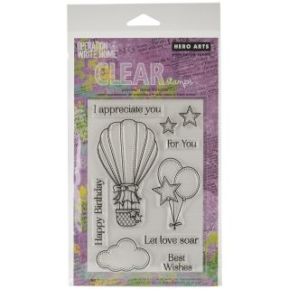 Hero Arts Clear Stamps 4x6 Sheet Happy Birthday Today $13.99
