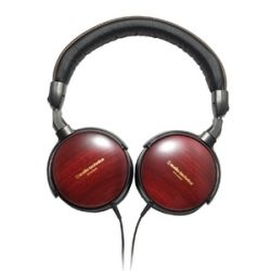 Audio Technica ATH ESW9A Portable Wooden Headphone