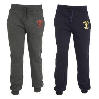 NYPD 2 Pantalons de Jogging Homme Marine et anthracite   Achat / Vente