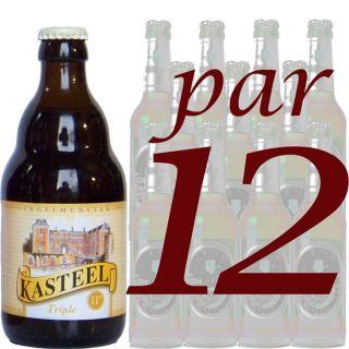 Kasteel Triple 33cl par 12   Achat / Vente BIERE Kasteel Triple 33cl