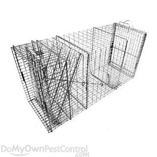 Tomahawk Live Trap Deluxe Bobcat Size Trap with Rear