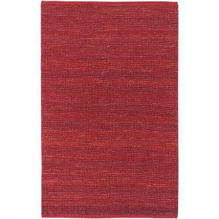 Hand woven Cottage Red Natural Fiber Jute Rug (5 x 8) Today $137.99