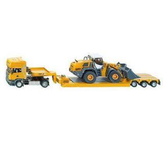 SIKU   Camion Scania R620 avec remorque surbaissé et chargeur_x000D