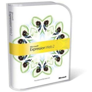 Microsoft Expression Web 2 Web Development Software
