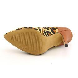 Jessica Simpson Womens Jaide 2 Hair Calf Dress Shoes