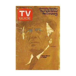 1973 TV Guide June 9 Richard Widmark;Lee Meriwether