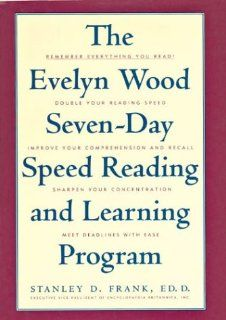 The Evelyn Wood Seven Day Speed Reading and Learning Program: Stanley