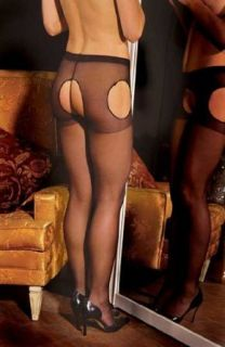 Elegant Moments Sexy Sheer suspender pantyhose 1712Q
