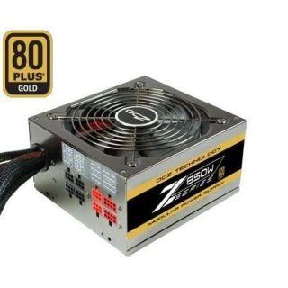 Alimentation PC modulaire 850 Watt   Ventilat silencieux 135 mm