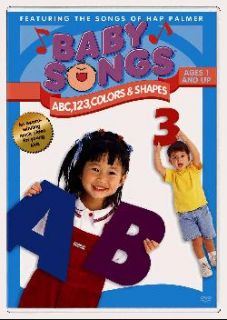 Baby Songs ABC, 123, Colors& Shapes (DVD)