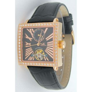 Adee Kaye Womens Automatic Stainless Steel Watch