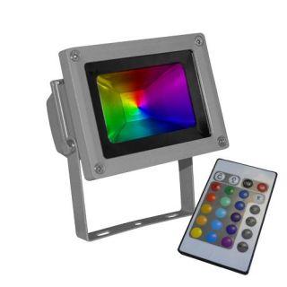Projecteur led 10W high power RGB. Puissance 700 lumens/70W. Angle