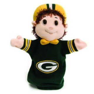 GREEN BAY PACKERS MASCOT HAND PUPPETS (2) Sports