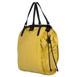 Burberry 3753608 Small Yellow Nylon Tote Bag