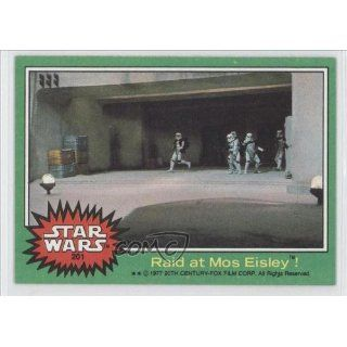 Raid at Mos Eisley (Trading Card) 1977 Star Wars #201 Everything Else