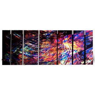 Ash Carl Come 7 panel Abstract Metal Wall Art Today $314.99