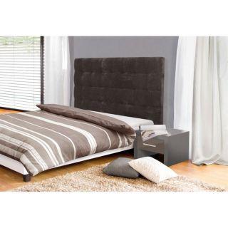 Tête de lit MIDNIGHT 140 cm marron   Achat / Vente TETE DE LIT
