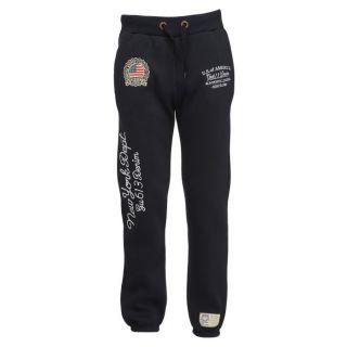 Gangster Unit Pantalon de Jogging Homme Marine   Achat / Vente
