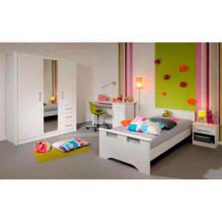 WHITE Ensemble chambre enfant 4 pièces   Achat / Vente CHAMBRE