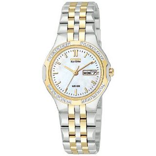 Citizen Eco Drive Corso Womens Two tone Watch