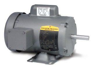 1hp 1725RPM 143T Frame TEFC 115/208 230 Volts Baldor Electric Motor