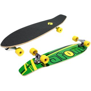 Atom 36 inch Surf Longboard with Laminate Deck and Front Truck System