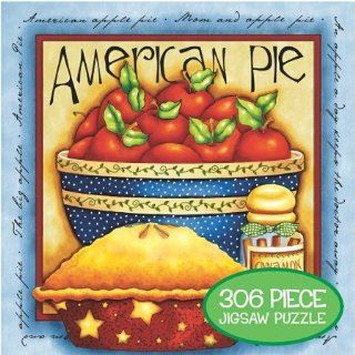 American Pie by Joy Hall Jigsaw Puzzle 306pc: Toys & Games