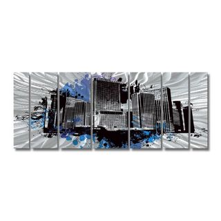 Ash Carl Hydrodynamic Metal Wall Art