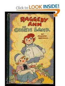 Raggedy Ann in Cookie Land: Johnny Gruelle: 9780027371307: