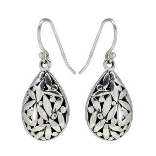 Sunstone   Aretes con diseño de gota, forma de pera, estilo Bali y