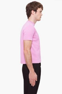 Raf Simons Pink Dual T shirt for men