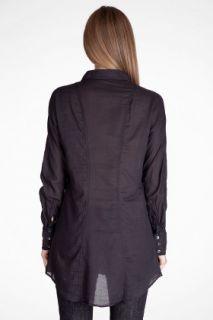 James Perse Rib Panel Dolman Shirt for women