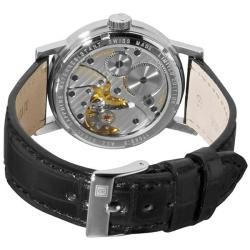 Revue Thommen Mens Classical RT 1953 Leather Strap Mechanical Watch