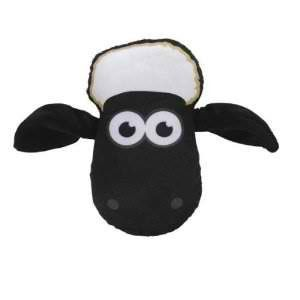 Shaun the Sheep Ewe Head Shaped Kids Printed Plush Cushion