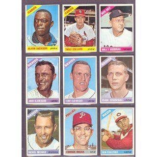 1966 Topps #206 Alvin Jackson Cardinals (Near Mint