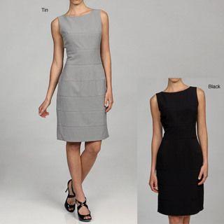 Calvin Klein Womens Sleeveless Dress