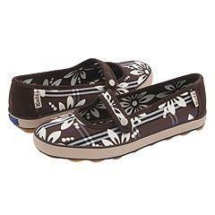 Keds Champion Floral Mary Jane Coffee Bean