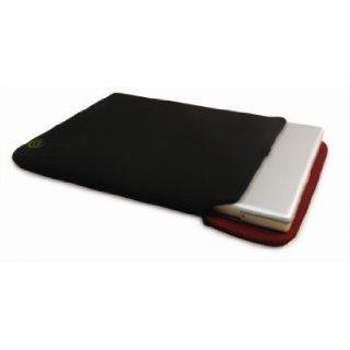 HandStands Reversible 17 Laptop Sleeve   Black/Burgundy