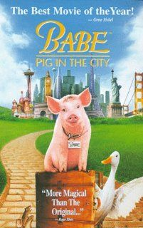 Babe   Pig in the City [VHS] Magda Szubanski, Elizabeth