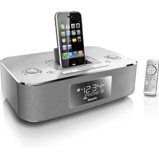 Philips DC290 iPod Docking Clock Radio (Refurbished)