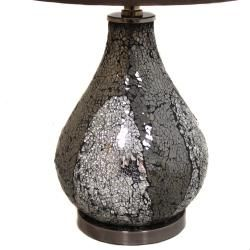 Casa Cortes Mosaic Glass 26 inch Table Lamps (Set of 2)