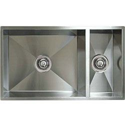 Ticor Undermount Stainless Steel 16 gauge Square Kitchen Sink