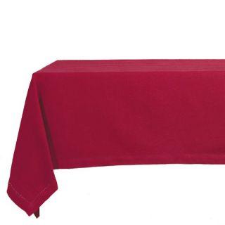150 x 150 Lin Coton Framboise   Achat / Vente NAPPE DE TABLE Nappe 150