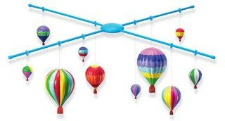 3 Dimensional Hot Air Balloon Mobile Making Kit Toys