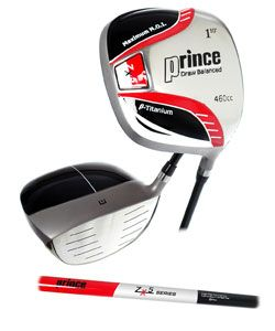 Prince ZX5 14 piece Golf Club and Bag Set