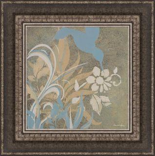 Hakimipour Ritter Blue Bird Silhouette I Framed Print Art